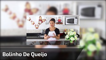 Receita De Bolinho De Queijo, Um Delicia Para Fazer Pra Família!