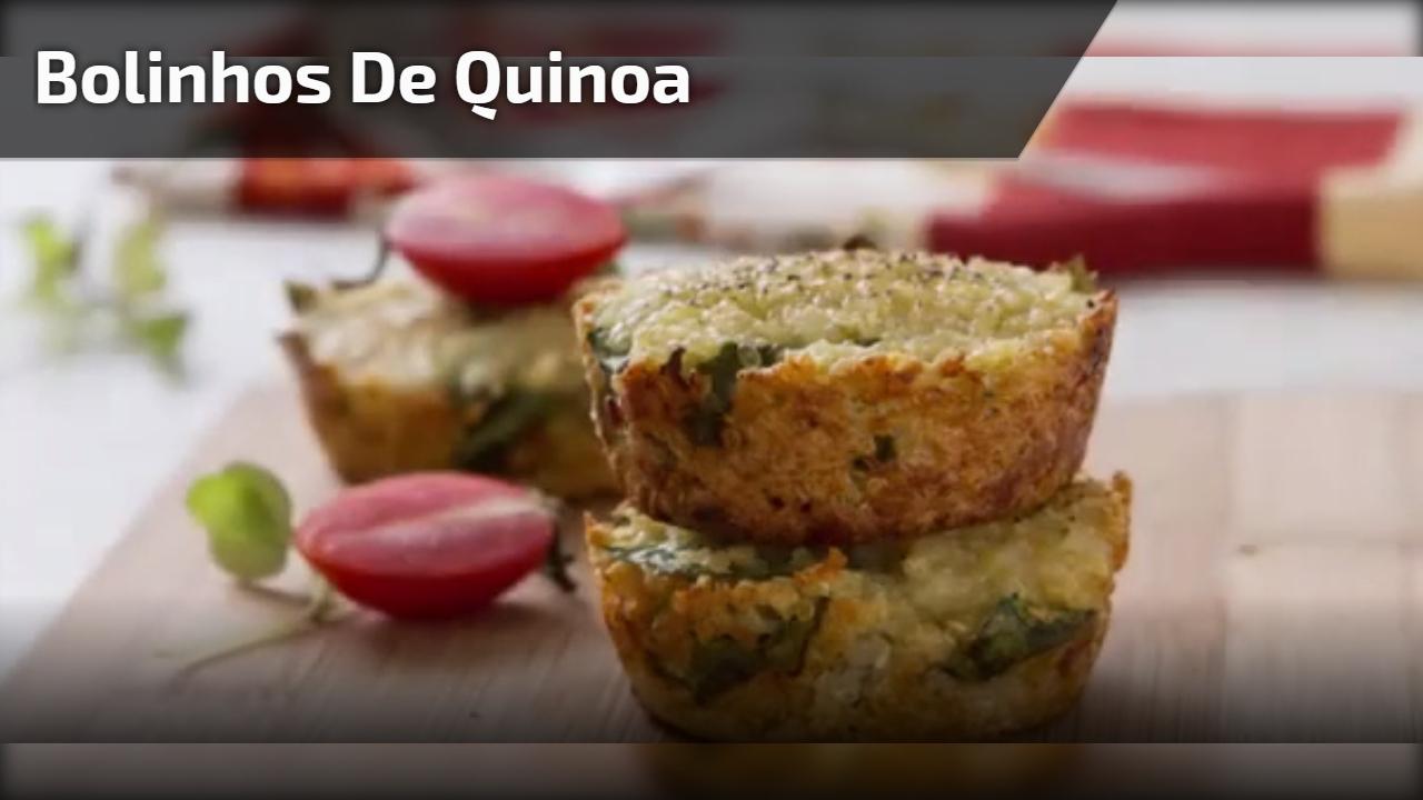 Bolinhos de quinoa
