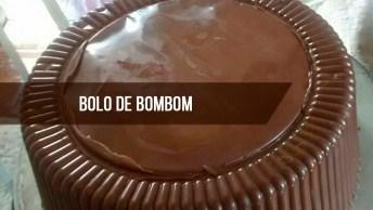 Receita De Bolo Bombom Mousse De Maracujá - Que Ideia Incrível!