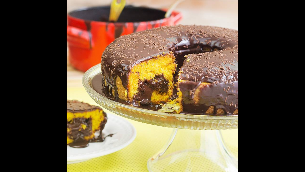 Receita de bolo de cenoura, olha só que delicia para o café da tarde!!!
