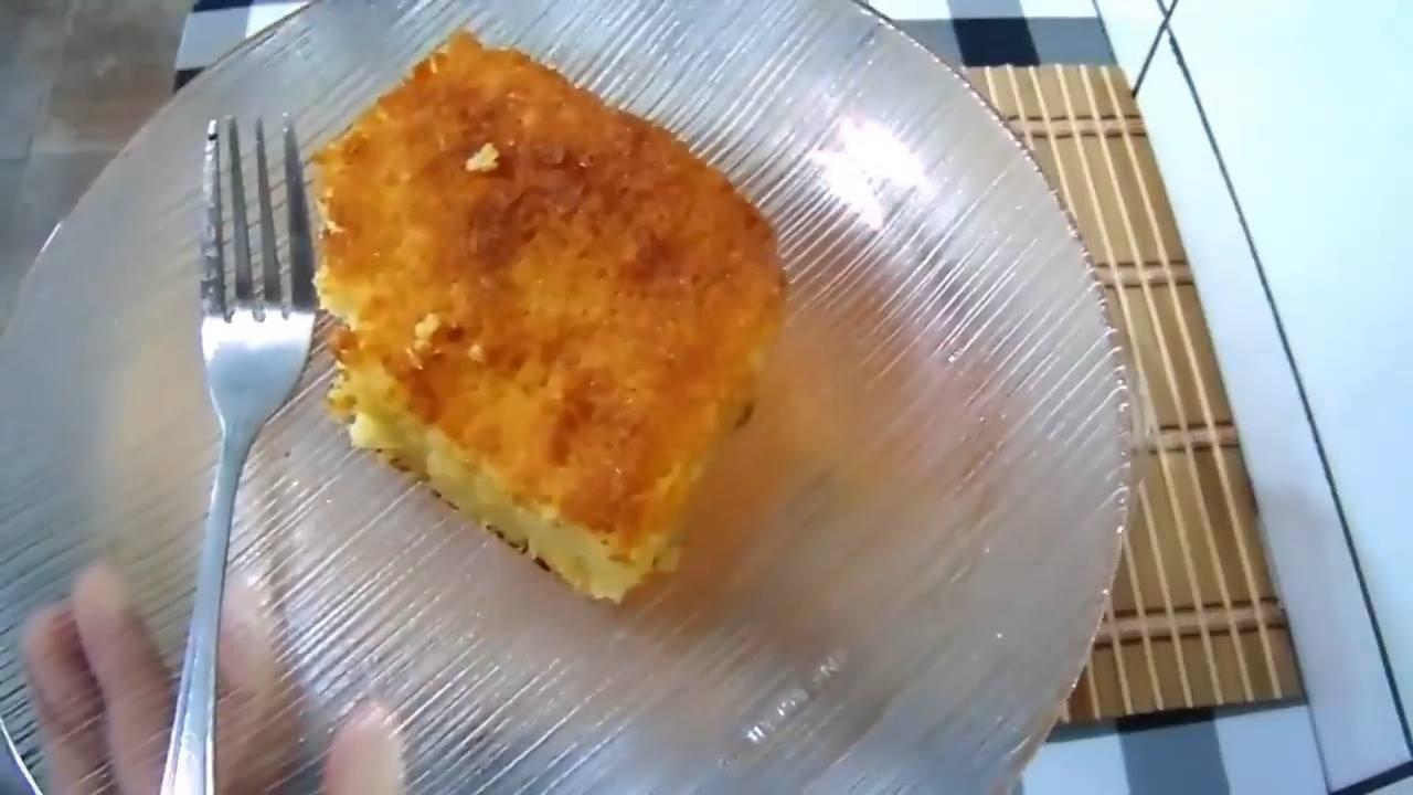 Receita de bolo de fubá cremoso, super fácil de fazer e muito gostoso, confira!