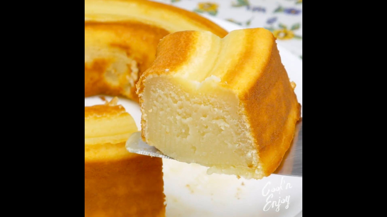 Receita de bolo de leite delicioso e super fácil de fazer, confira!!!