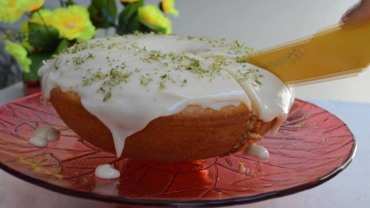 Receita de bolo de limão, fácil e rápido de fazer, confira!