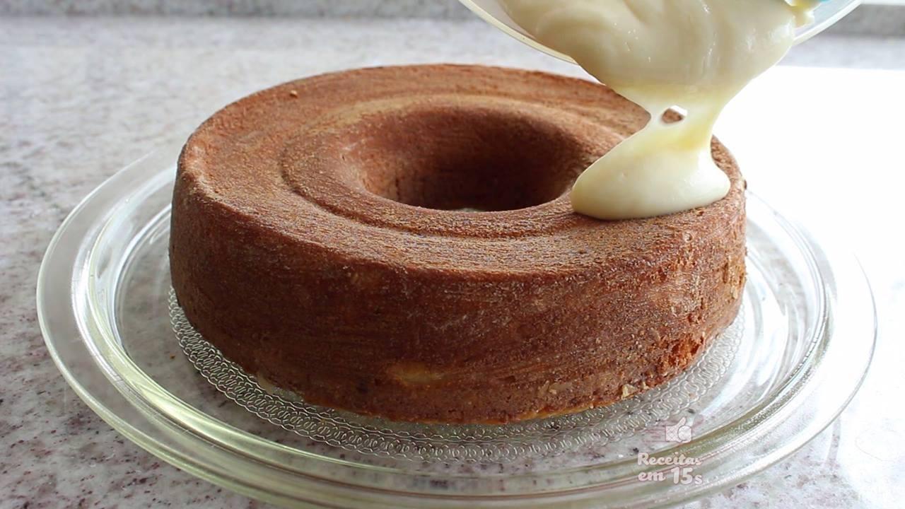 Receita de bolo de limão, o modo de preparo é bem simples!