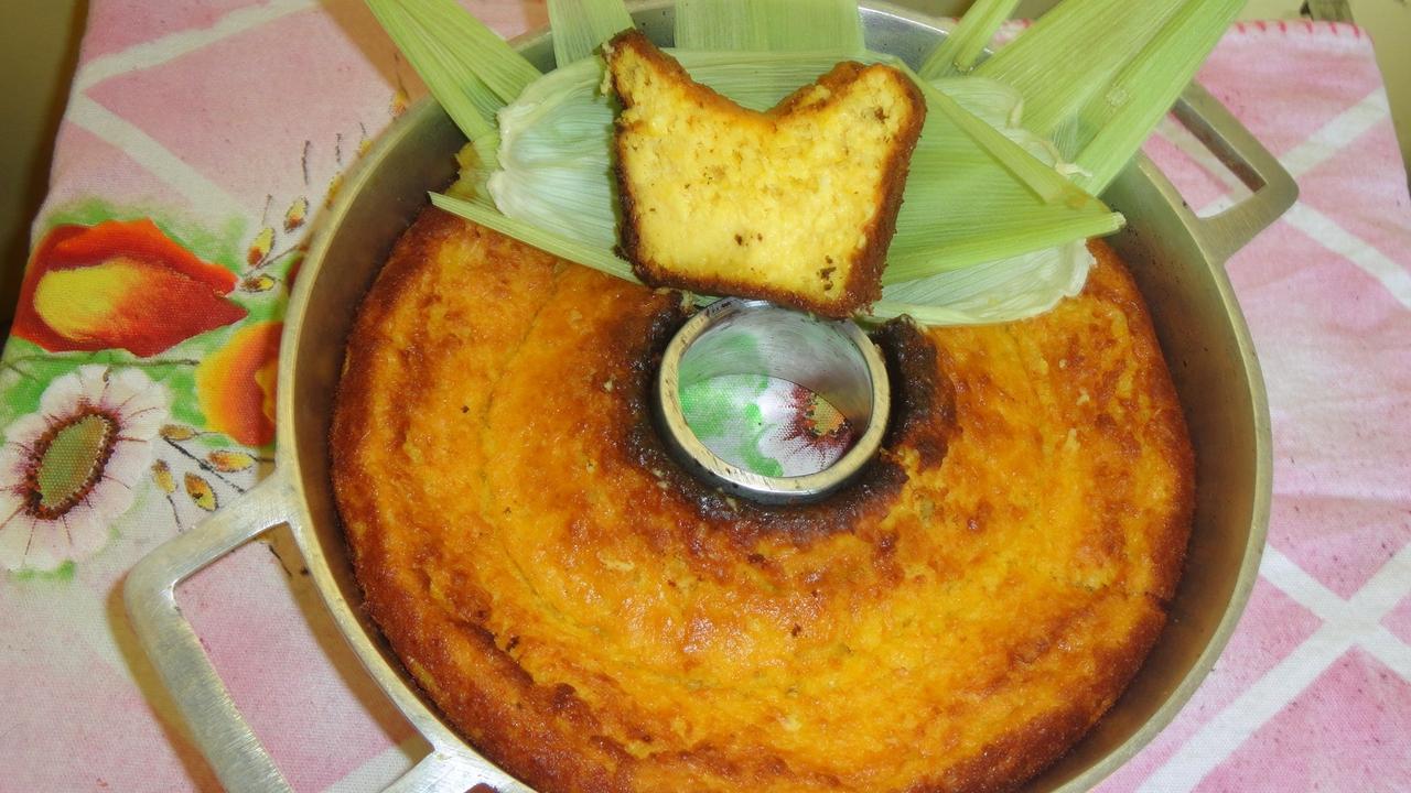 Receita de bolo de milho verde diet, vale a pena conferir!!!