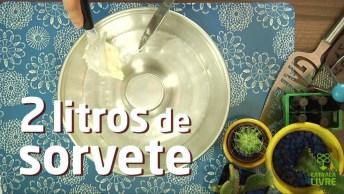 Receita De Bolo De Sorvete, Para Refrescar A Família Toda!