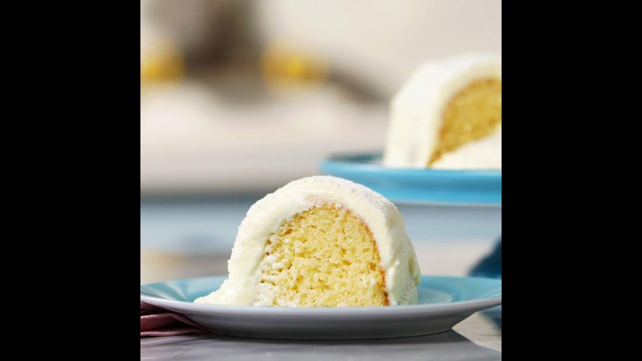 Receita de bolo vulcão de leite ninho