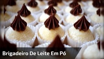 Receita De Brigadeiro De Leite Ninho Com Nutella, Mais Uma Maravilha!