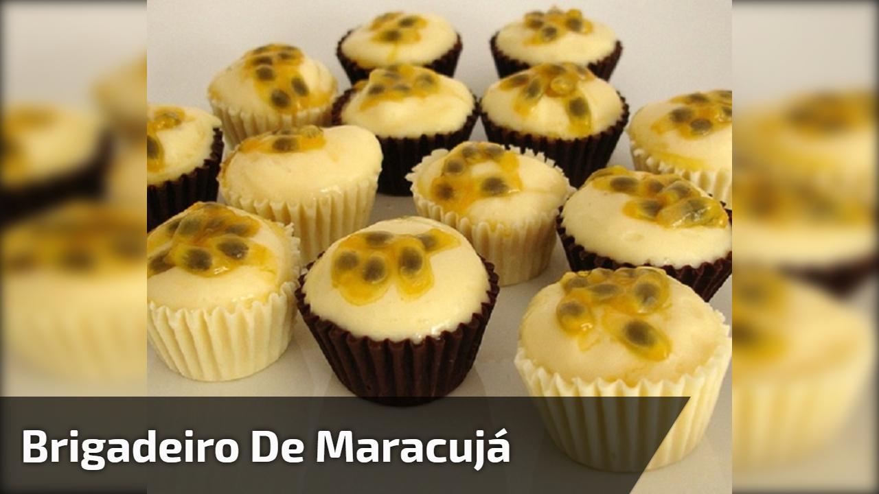 Brigadeiro de Maracujá