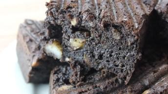 Receita De Brownie Fit Delicioso, Bora Conferir Esta Receitinha!