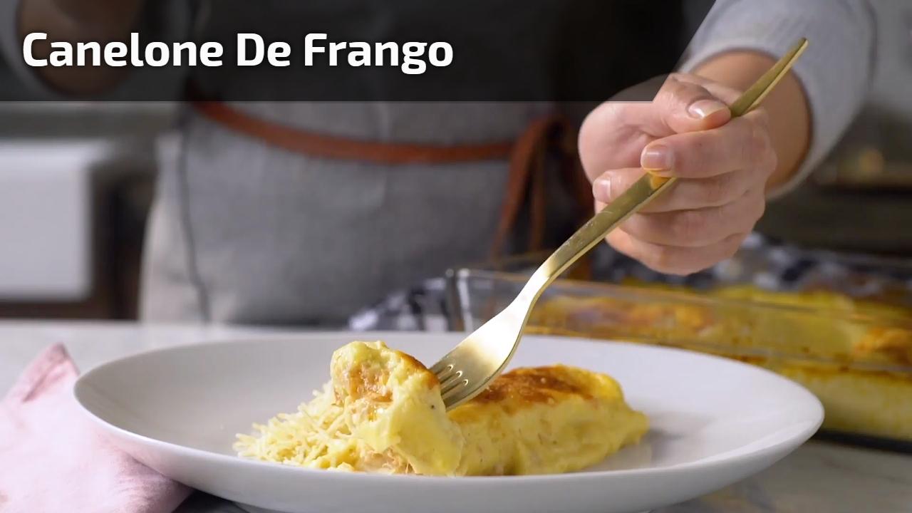 Canelone de Frango