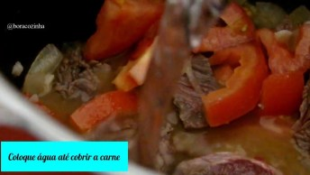 Receita De Carne Com Batata, Uma Receita Super Fácil De Fazer!