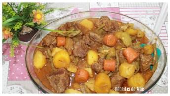 Receita De Carne De Panela Com Legumes, Melhor Receita Do Dia!