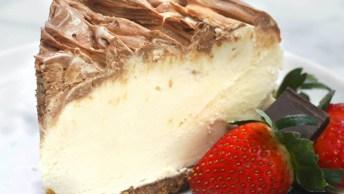 Receita De Cheesecake De Creme Irlandês, Olha Só Que Maravilha!