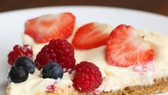 Receita De Cheesecake De Frutas Vermelhas, Essa É A Favorita!