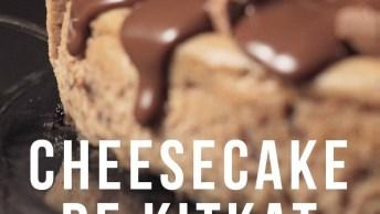 Receita De Cheesecake De Kit-Kat, Simplesmente Irresistível!