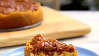 Receita De Cheesecake Salgado, Para Inovar Na Cozinha E Surpreender As Visitas!