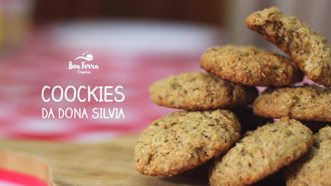 Receita de coockies da Dona Silvia