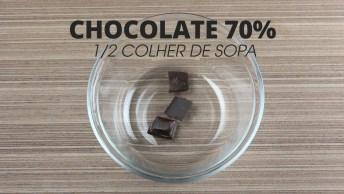 Receita De Cookie De Microondas, Fácil E Delicioso As Crianças Adoram!