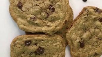 Receita De Cookies Americano, Olha Só Que Delicia De Receita!