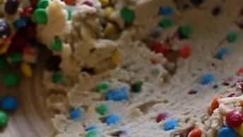 Receita De Cookies De M&M'S Super Simples E Com Resultado Incrível!