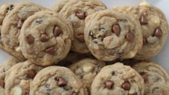 Receita De Cookies Saborosos E Rápidos De Fazer, Você Vai Adorar!