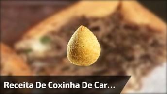 Receita De Coxinha De Carne, Também Fica Muito Boa, Confira!