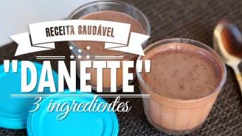 Receita De Creme De Chocolate Gostoso, Com Apenas Três Ingredientes!