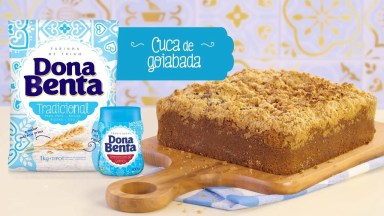 Receita De Cuca De Goiabada, Olha Só Que Delicia De Receita!
