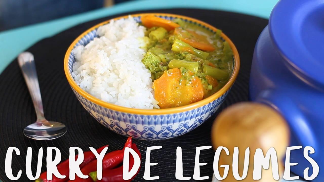 Receita de Curry de Legumes, mais uma ideia sensacional