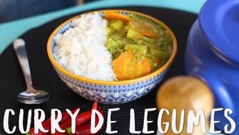 Receita De Curry De Legumes, Mais Uma Ideia Sensacional!