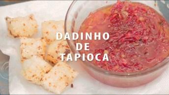 Receita De Dadinho De Tapioca Com Geleia De Pimenta, Uma Delicia!