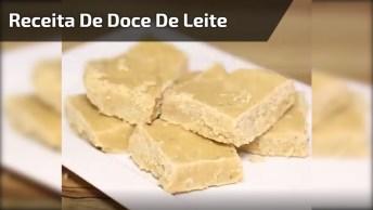 Receita De Doce De Leite Com Amendoim, Fácil De Fazer Uma Delicia De Comer!