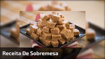 Receita De Doce De Leite Com Amendoim, Uma Sobremesa Deliciosa!