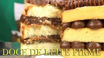 Receita De Doce De Leite Firme, Perfeito Para Rechear Cupcake!