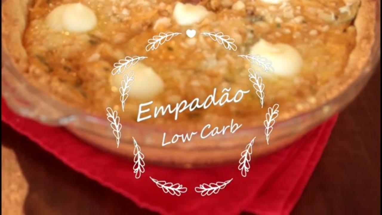 Receita de empadão low carb, fácil de fazer uma delicia de comer!!!
