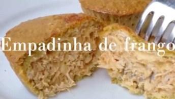 Receita De Empadinha De Frango Fit, Faça Para Seu Lanche Da Tarde!
