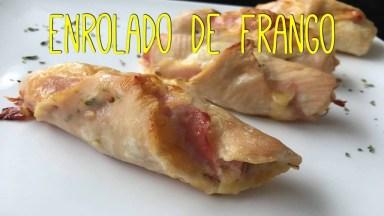 Receita De Enroladinho De Frango, Uma Ideia Muito Fácil De Fazer!