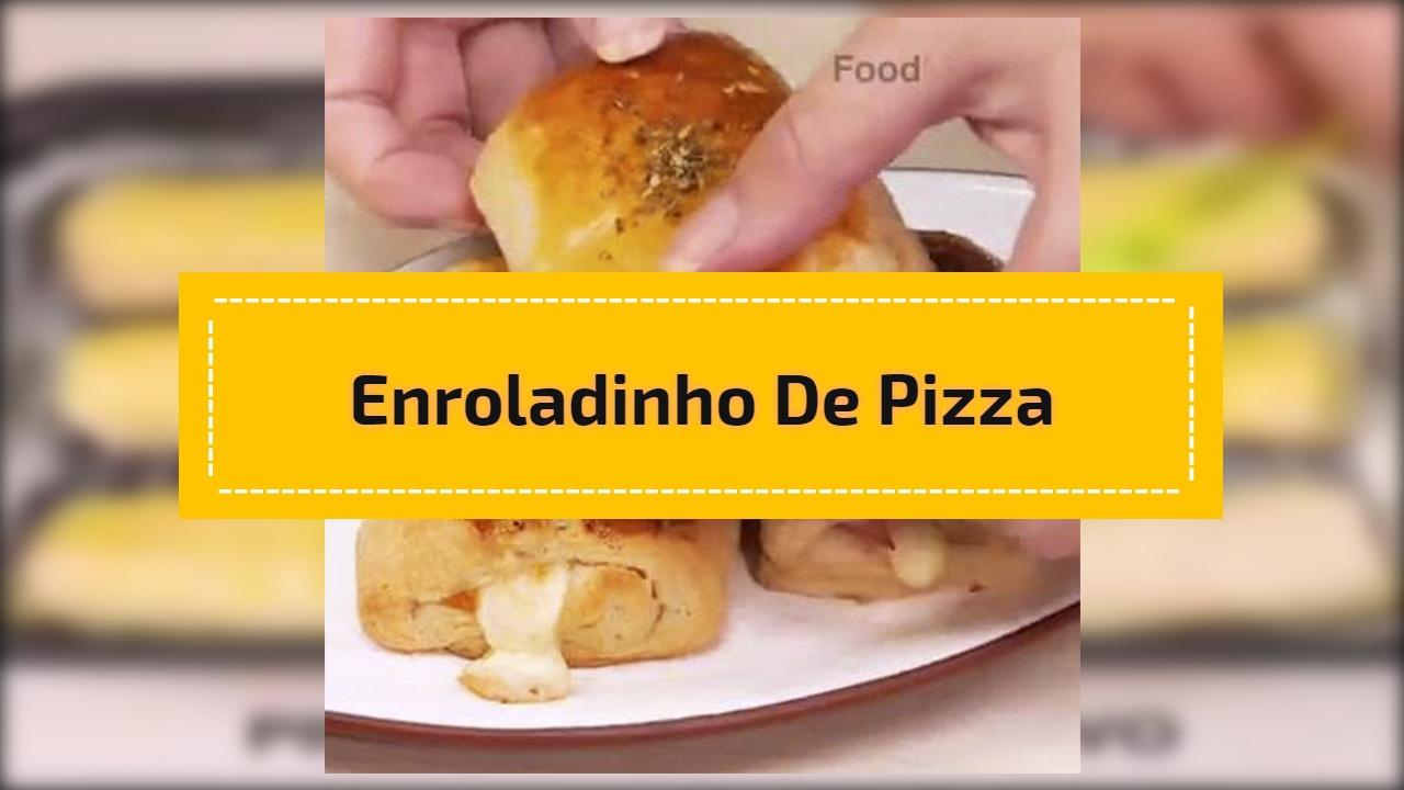 Enroladinho de pizza