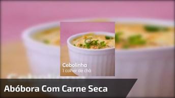Receita De Escondidinho De Abóbora Com Carne Seca, Simplesmente Perfeito!