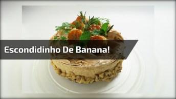 Receita De Escondidinho De Banana Da Terra, Uma Delicia!
