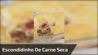 Receita De Escondidinho De Carne Seca - Passo A Passo Para Aprender!