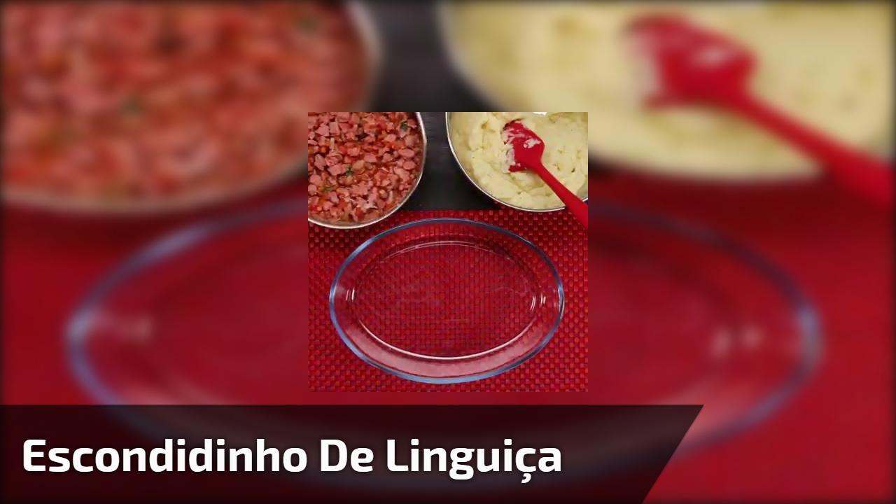 Escondidinho de Linguiça