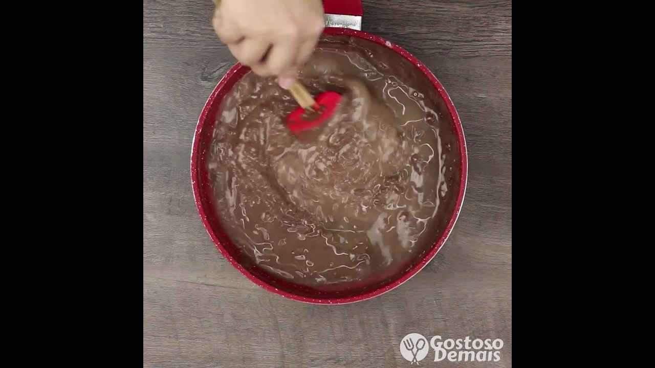 Receita de Flan de Nutella