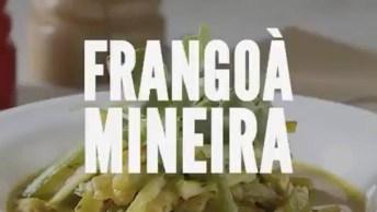 Receita De Frango À Mineira, Uma Ideia Bem Gostosa De Fazer!