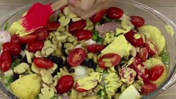 Receita De Frango Assado, Fácil De Fazer, Uma Delicia De Comer!