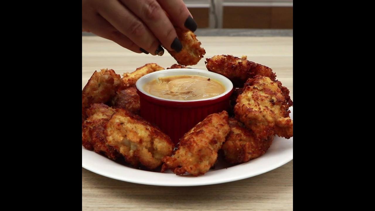 Receita de frango crocante, veja como é fácil de fazer, sua família vai adorar!