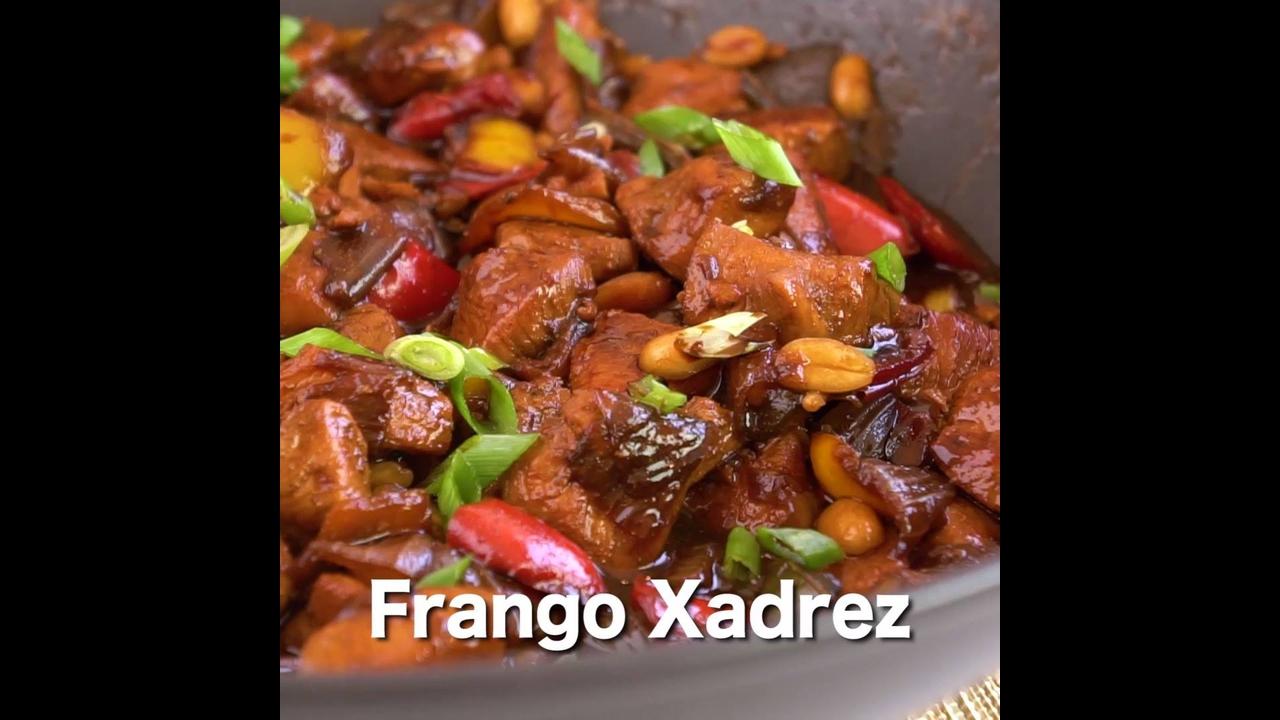 Receita de frango xadrez, um prato tradicional e gostoso