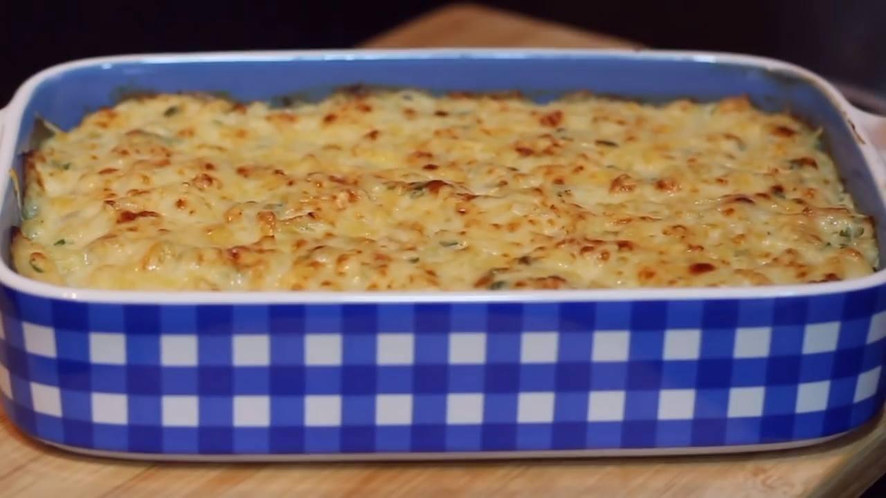 Receita de Gratinado de Bacalhau com batatas