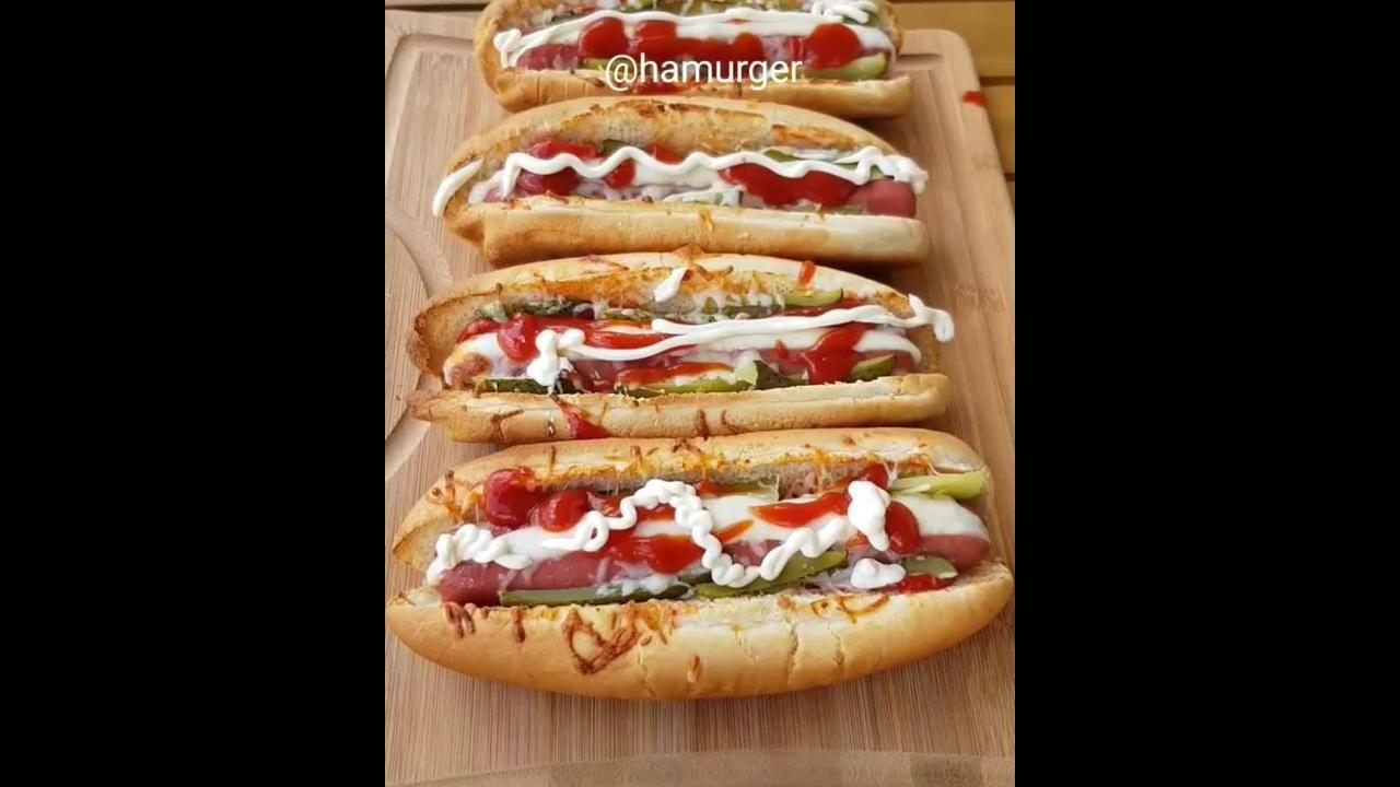 Receita de hot dog de forno